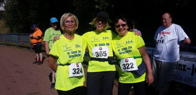 Unsere drei Mädels vom Walking!