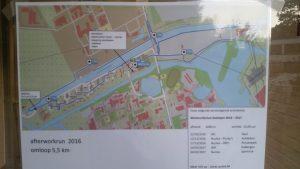 Streckenplan des After Work Runs.