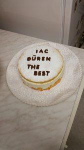 Der beste Kuchen für den besten Verein von unserer Besten Walkerin.