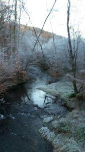 Winterlandschaften über 18,5 km.